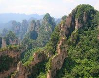 Zhangjiajie ancient mountains Stock Image