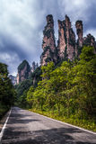 Zhangjiajie-Berge lizenzfreies stockfoto