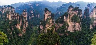 Zhangjiajie-Berge stockbild