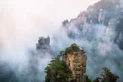 Zhangjiajie-Berge stockfotografie