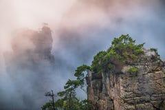 Zhangjiajie-Berge stockfoto
