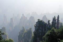Zhangjiajie famoso Forest Park nazionale in provincia del Hunan, Cina Immagine Stock Libera da Diritti