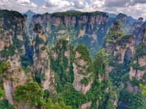 Zhangjiajie Forest Park - Cina nazionali fotografia stock