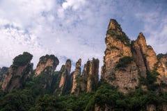 Zhangjiajie Forest Park nacional, China Fotos de Stock