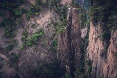 Zhangjiajie Forest Park nacional, China Fotos de archivo libres de regalías