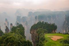 Zhangjiajie Forest Park nacional, Hunan, China Fotografia de Stock