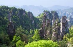 Zhangjiajie Forest Park national dans Hunan, Chine photos stock