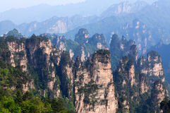 Zhangjiajie Forest Park national dans Hunan, Chine photographie stock