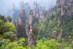 Zhangjiajie Forest Park national dans la province de Hunan, Chine photographie stock