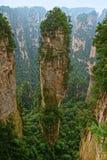 Zhangjiajie Forest Park nazionale, Wulingyuan, provincia del Hunan, Cina fotografia stock libera da diritti