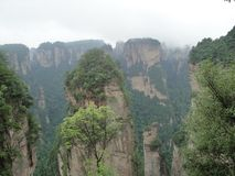 Zhangjiajie, the inspiration of Pandora planet in Avatar royalty free stock photos