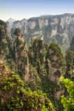 Zhangjiajie Landscape China Stock Photo