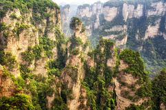 Zhangjiajie Landscape China Stock Photography