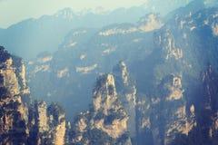 Zhangjiajie lasu państwowego norma Obraz Royalty Free
