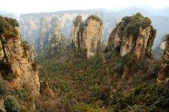 Zhangjiajie lasu państwowy park Fotografia Stock