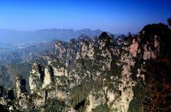 Zhangjiajie lasu państwowy park Zdjęcia Royalty Free