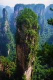 Zhangjiajie. And is located in the northwest of Hunan Zhangjiajie and Xiangxi, more people to enjoy the incredible beauty of Hunan Stock Image