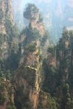 Zhangjiajie mountains Royalty Free Stock Photography