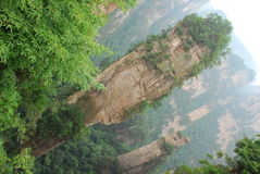 Zhangjiajie mountain Stock Photo