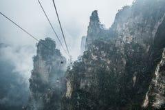 Zhangjiajie. Mountain, wulingyuan park, hunan, china Royalty Free Stock Image