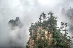 Zhangjiajie. Mountain, wulingyuan park, hunan, china Royalty Free Stock Photo