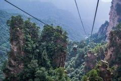 Zhangjiajie mountains. Wulingyuan national forest park in Hunan province, China Stock Photography