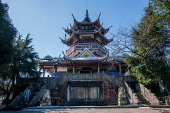 Zhangjiajie Nationaal Forest Park, Huangshizhai, Hunan, China stock afbeeldingen