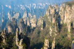 Zhangjiajie National forest China Stock Photo