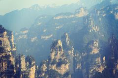 Zhangjiajie national forest par Royalty Free Stock Image