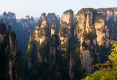 Zhangjiajie National Forest Park in Hunan Province, China Stock Images