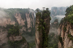 Zhangjiajie National Forest Park Royalty Free Stock Photography