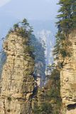 Zhangjiajie National Park. China. Avatar mountains royalty free stock photos