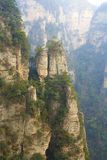 Zhangjiajie National Park. China. Avatar mountains stock images