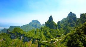 Zhangjiajie National Park in Hunan. China Royalty Free Stock Photography