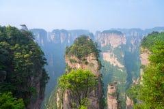 Zhangjiajie National Park in Hunan, China Stock Photography