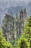 Zhangjiajie national park hunan province Royalty Free Stock Image