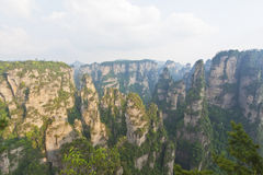 Zhangjiajie National Park in Hunan Province, China Stock Photo