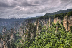 Zhangjiajie national park hunan province Royalty Free Stock Images