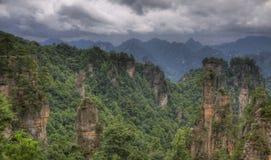 Zhangjiajie national park hunan province Stock Image