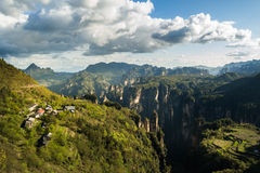 Zhangjiajie national park Royalty Free Stock Photos