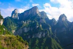 Zhangjiajie nationalpark, Avatarberg Arkivbild