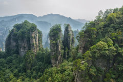 Zhangjiajie natural scenery Royalty Free Stock Photos