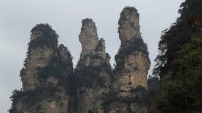 Zhangjiajie naturalny krajobraz Zdjęcie Royalty Free