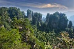 Zhangjiajie naturligt landskap Royaltyfri Fotografi