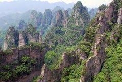Zhangjiajie-Reserve Lizenzfreies Stockbild