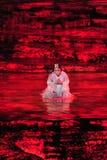 Zhangjiajie tianmen berg toont royalty-vrije stock foto