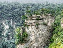 Zhangjiajie valley. National park Zhangjiajie wuling yuna china Stock Photography
