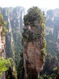 Zhangjiajie Yunnan Kina Fotografering för Bildbyråer