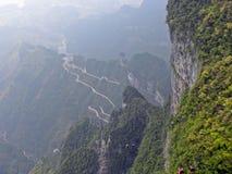 Zhangjiajie Yunnan Kina Royaltyfri Foto