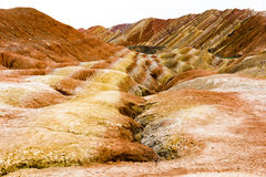 Zhangye-danxia Stockfotos